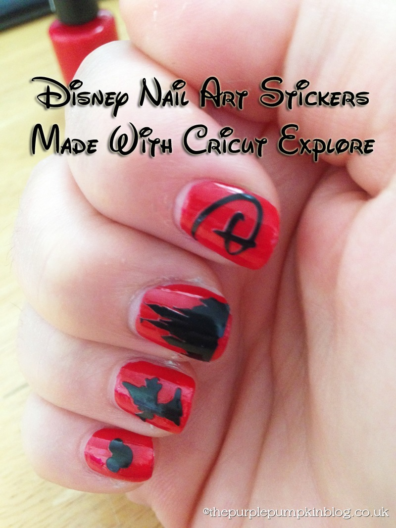 Disney Nail Art 100daysofdisney 187 The Purple Pumpkin Blog