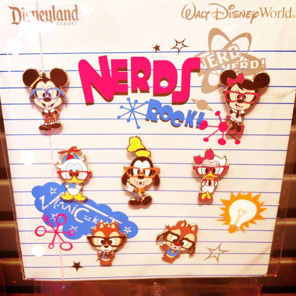 Disney Trading Pins - Nerds Rock