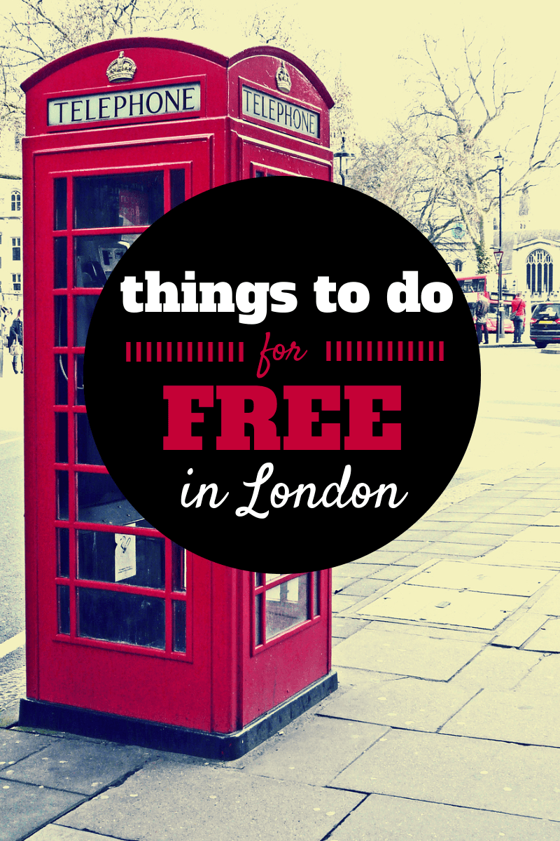 Things To do For Free In London