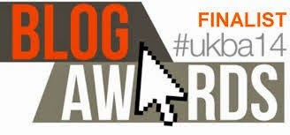 UK Blog Awards Finalist 2014