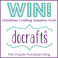Christmas in July Craft Supply Giveaway with docrafts