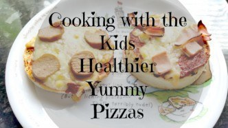 Cooking with the Kids Healthy, Yummy Pizzas1