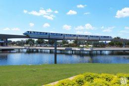 Disney Monorail Epcot