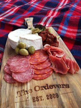 Personalised Jamie Oliver Antipasti Wooden Board (7)