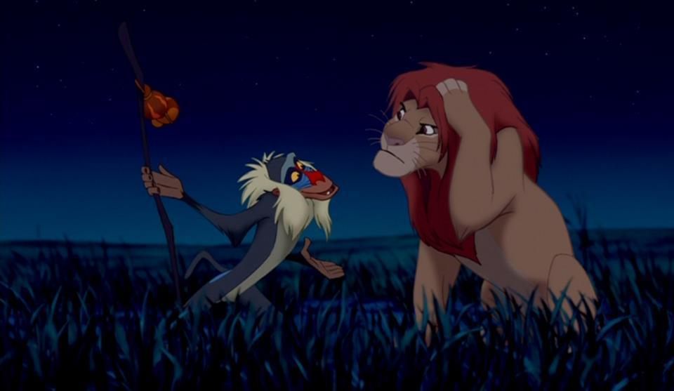 The Lion King | #100DaysOfDisney - Day 97 | Saturday Night ... Lion King Rafiki