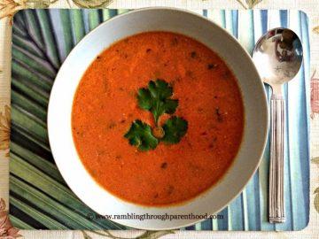 Tomato & Coconut Soup