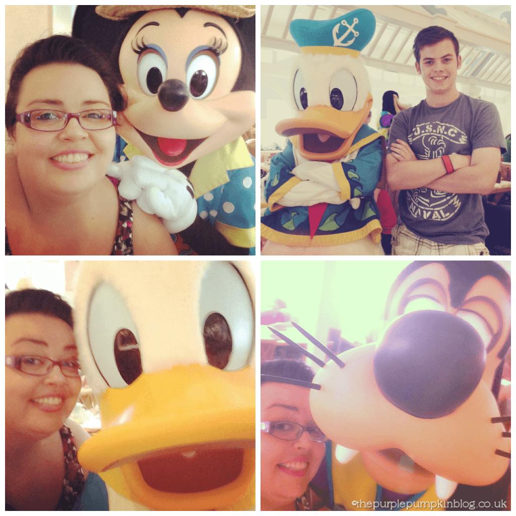 Donald Minnie Goofy Selfies