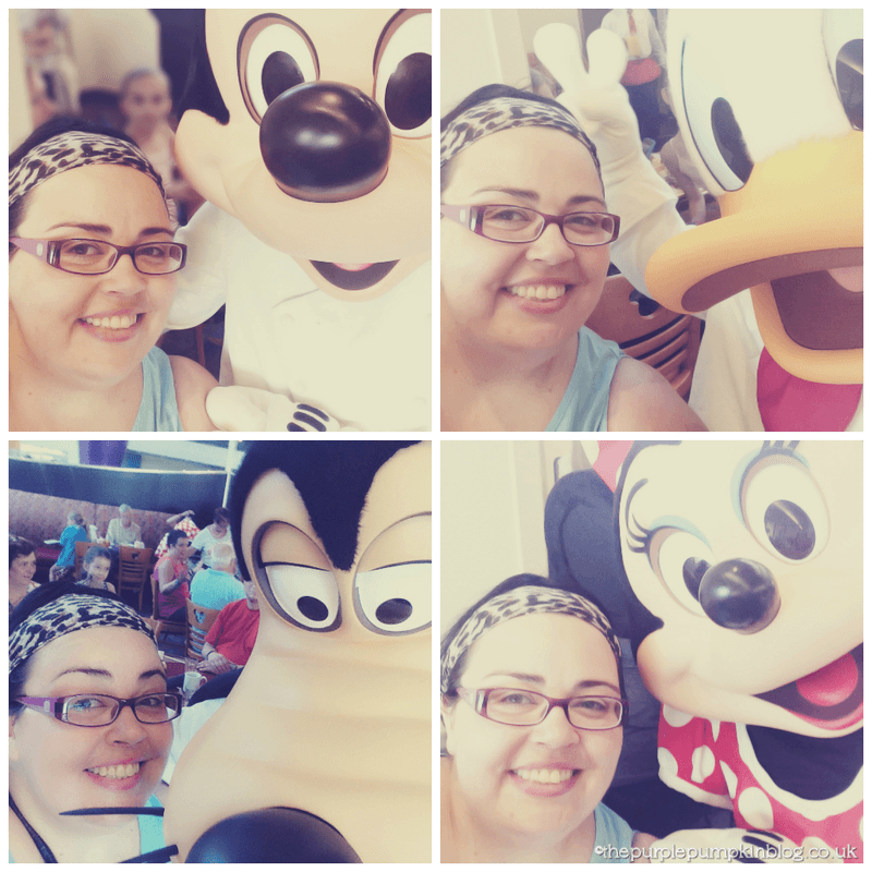 Chef Mickey's Selfies