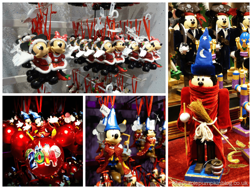 Mickey and Minnie Christmas Decorations