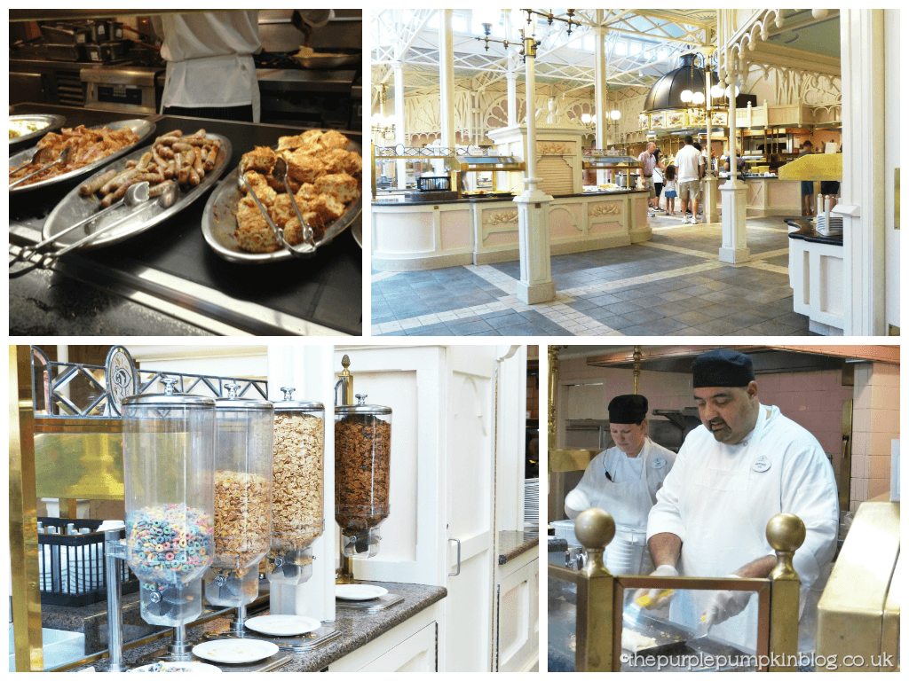 The Crystal Palace Breakfast Buffet