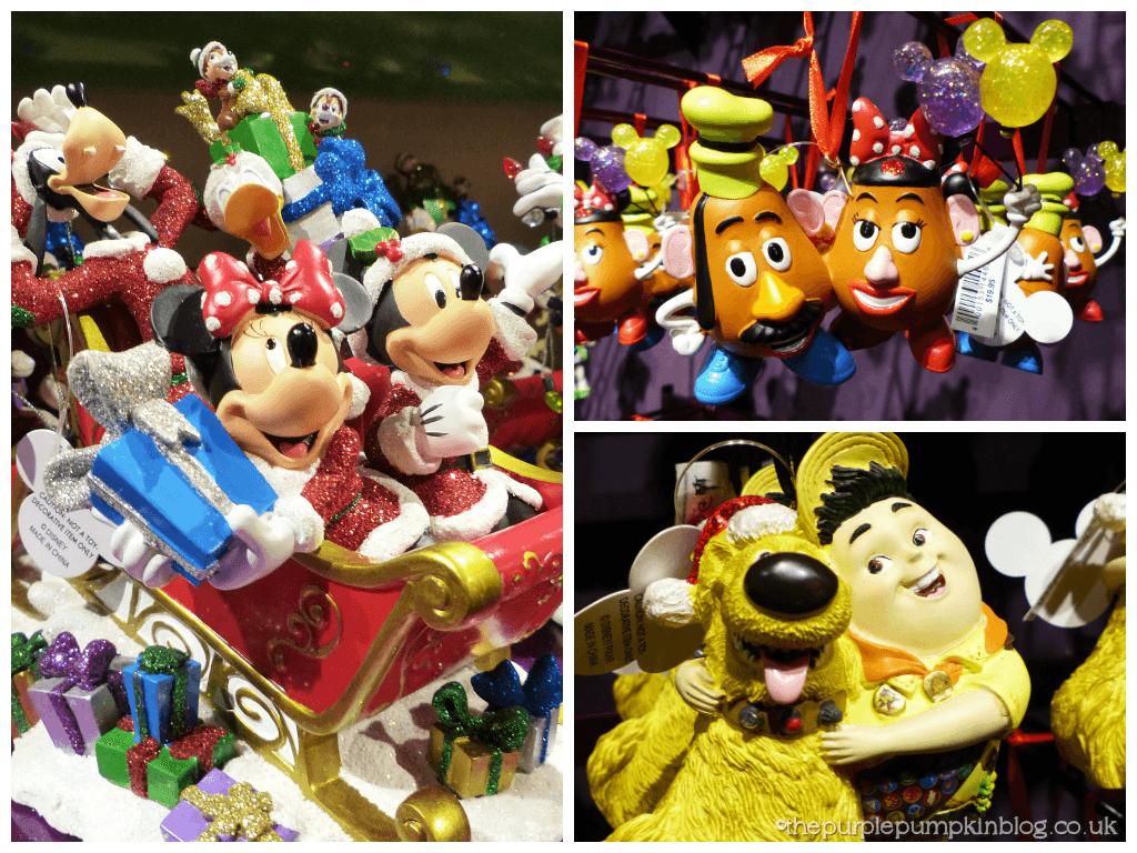 Disney Character Christmas Decorations