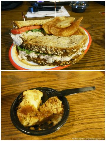 Columbia Harbor House Counter Service Tuna Sandwich
