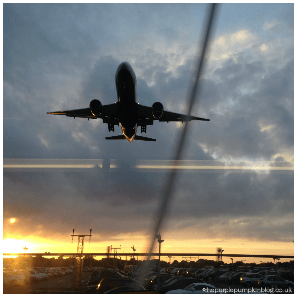 Aeroplane Taking Off - Travel Day - Heathrow to Orlando