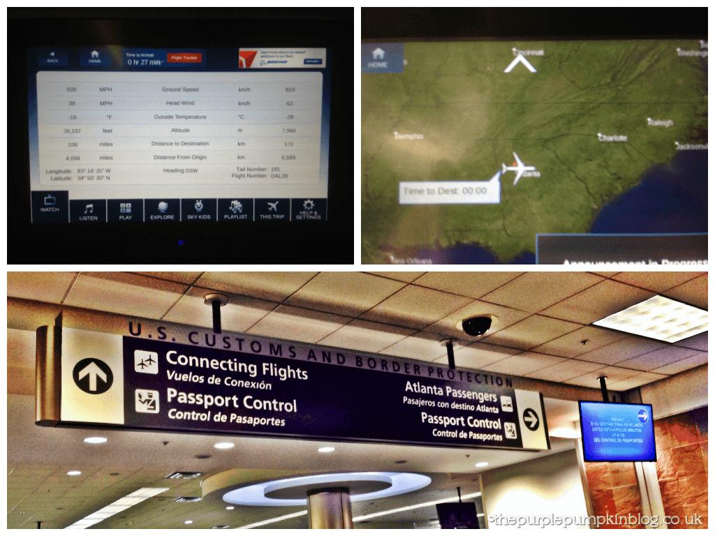 Delta Airlines - Heathrow - Atlanta - Orlando 2