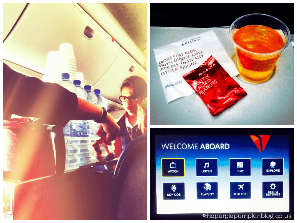 Delta Airlines - Heathrow - Atlanta - Orlando
