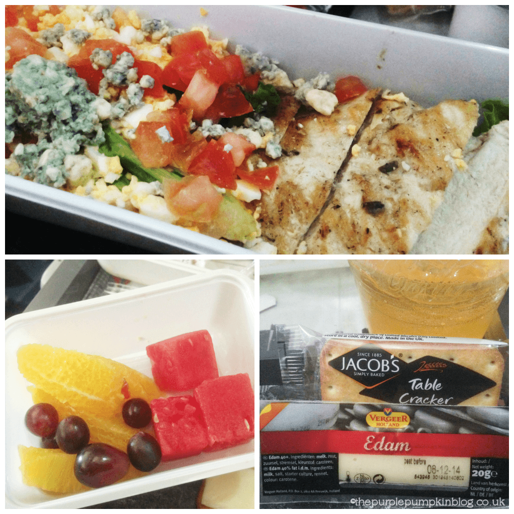 Delta Airlines Lunch - Heathrow - Atlanta - Orlando