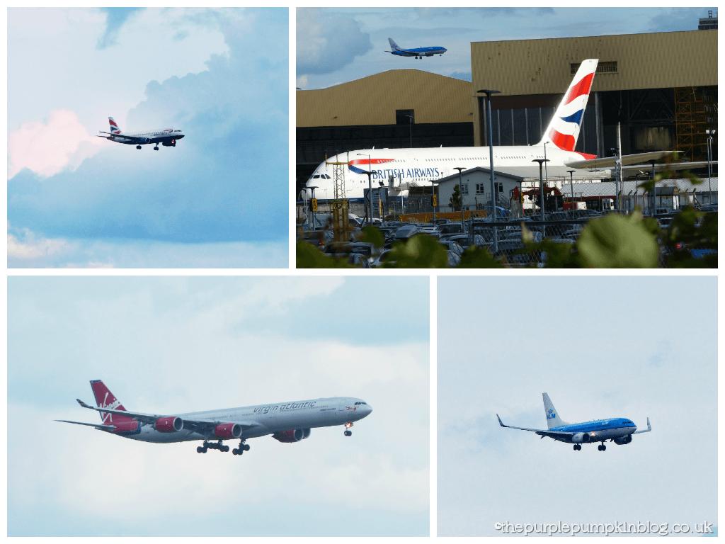 Heathrow Premier Inn - Planes Landing