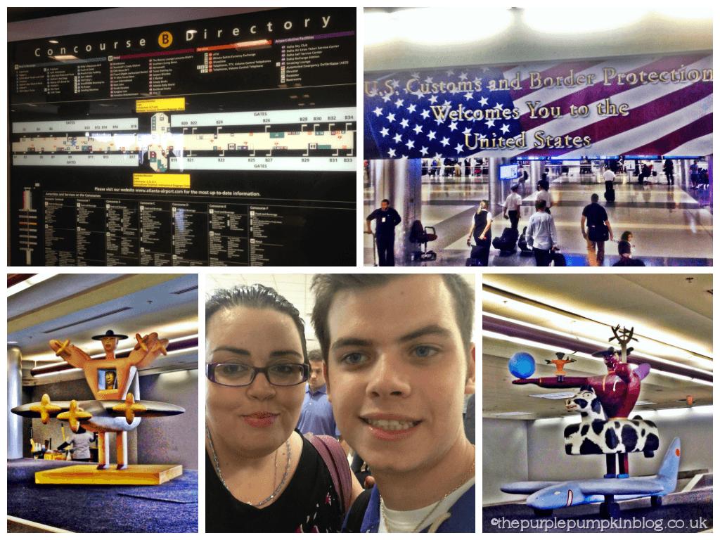 Travel Day - Heathrow - Atlanta - Orlando 2