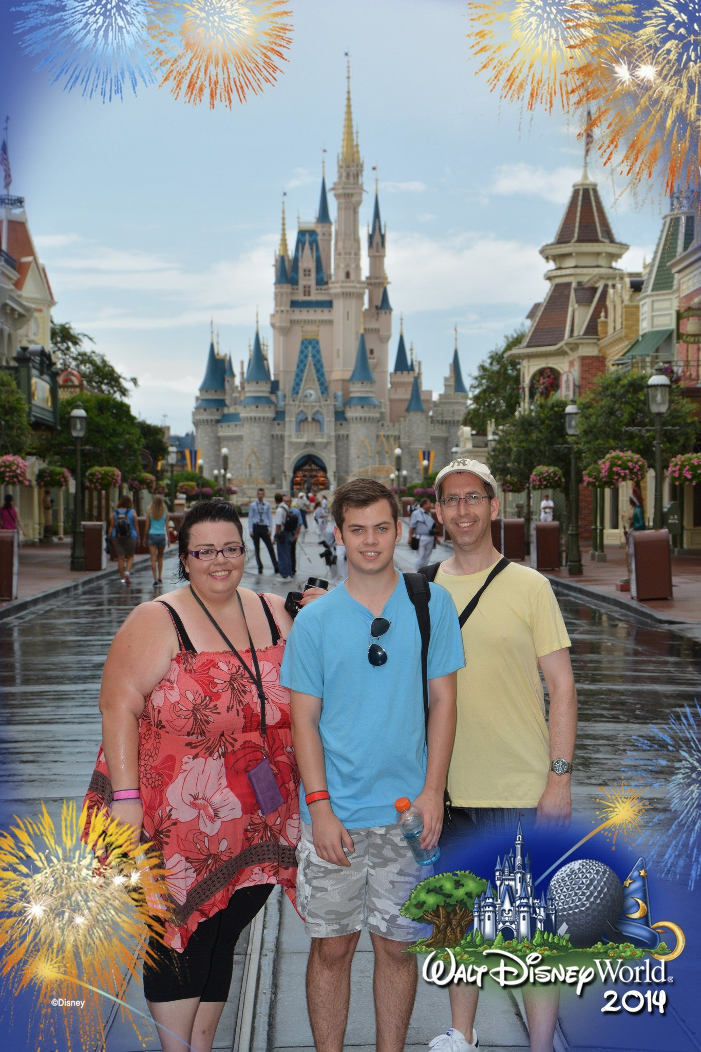 Us at Magic Kingdom 2014