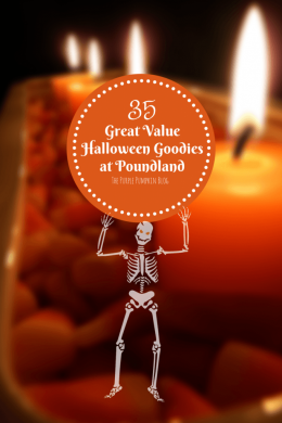 35 Great Value Halloween Goodies at Poundland