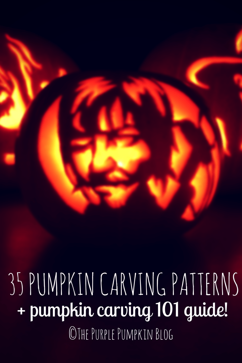 35 Pumpkin Carving Patterns and Pumpkin Carving 101 Guide