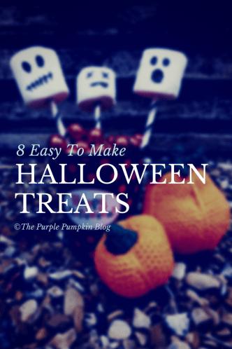 8 Easy To Make Halloween Treats