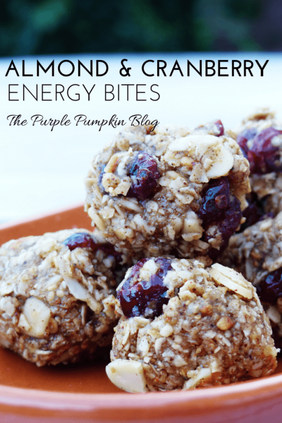 Almond and Cranberry Energy Bites Recipe