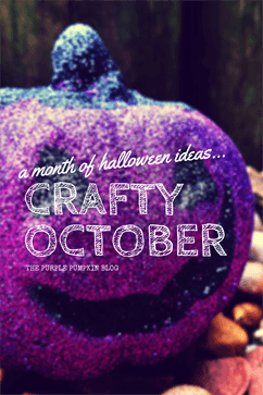 Crafty October - A Month of Halloween Ideas