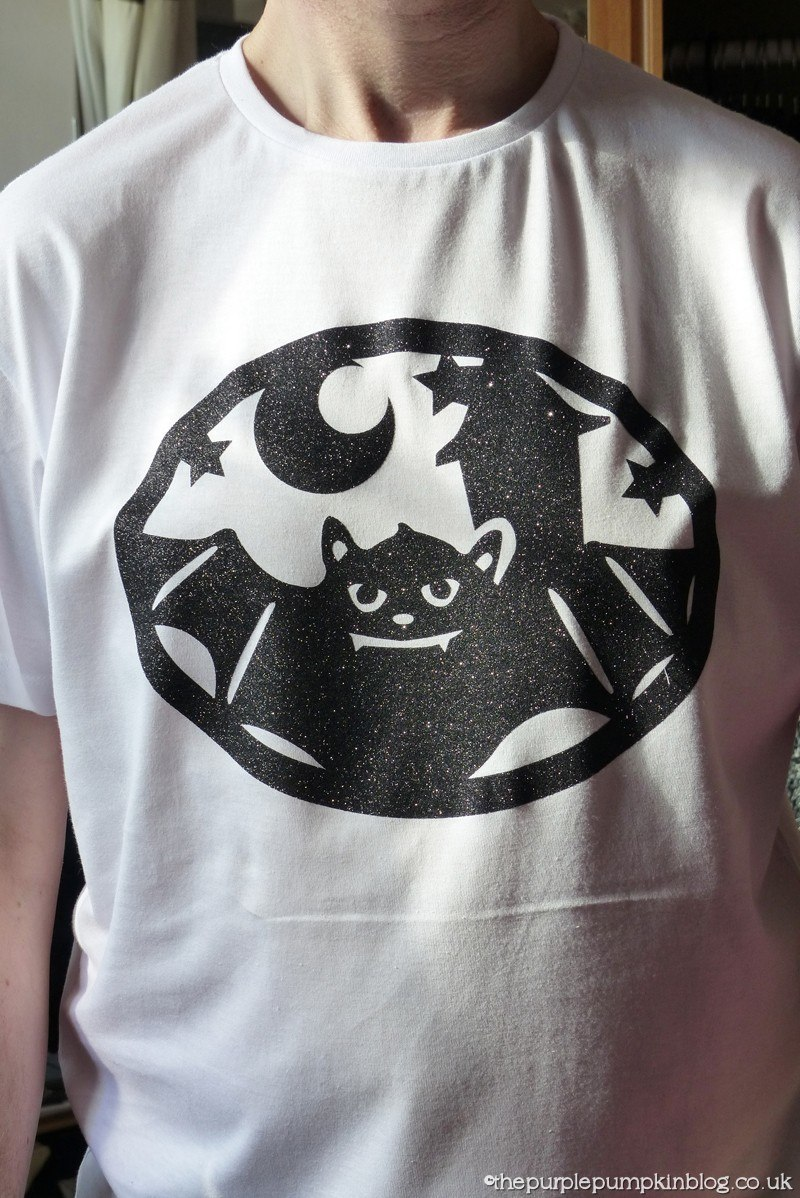 Design a Halloween T-Shirt using the Cricut Explore and Iron-On (6)