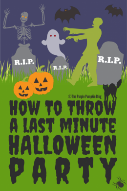 How To Throw A Last Minute Halloween Party