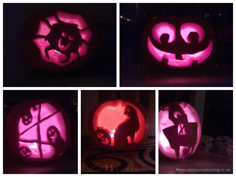 Pumpkin Carvings 2006