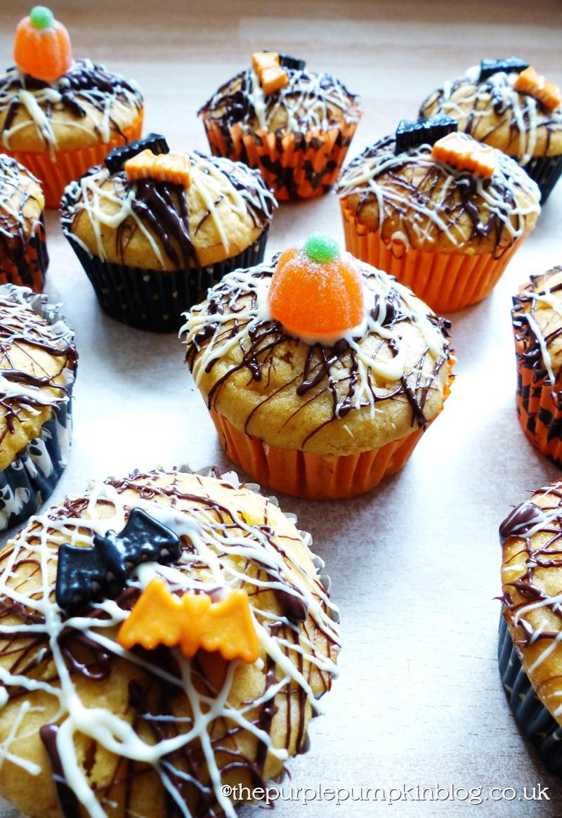 Pumpkin and Chocolate Orange Cupcakes