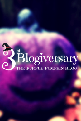 3rd Blogiversary The Purple Pumpkin Blog