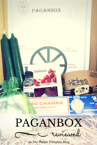 Paganbox Reviewed on The Purple Pumpkin Blog