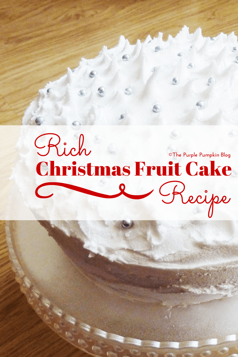 Wedding Cake Recipe Rich Fruit Christmas
