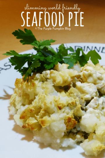 Slimming World Friendly Seafood Pie Recipe