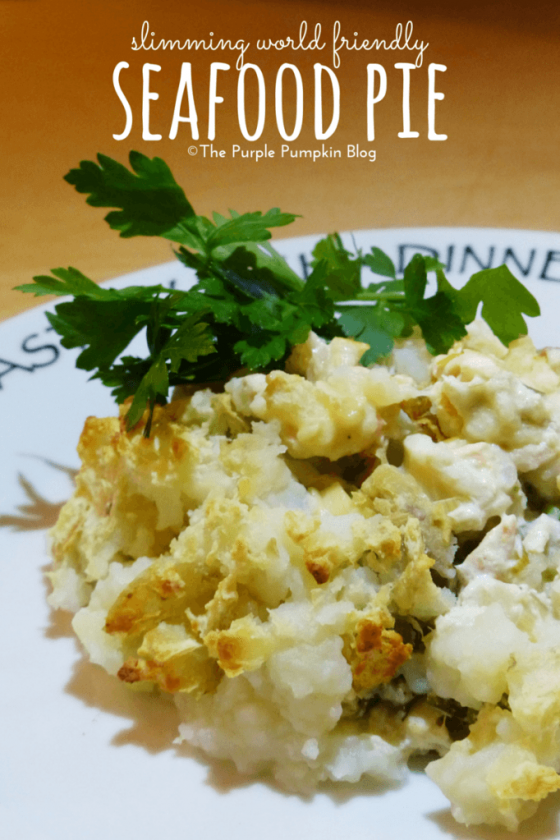 Slimming World Friendly Seafood Pie Recipe