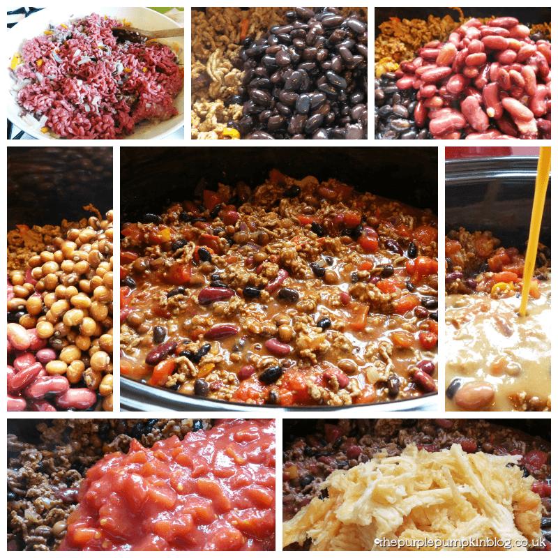 Slow Cooker Beef, Bean & Pumpkin Chilli Con Carne