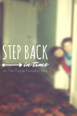 Step Back In Time on The Purple Pumpkin Blog - Linky
