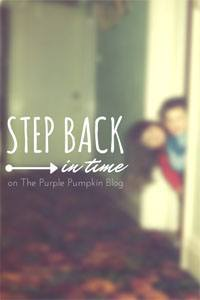 Step Back In Time Linky on The Purple Pumpkin Blog