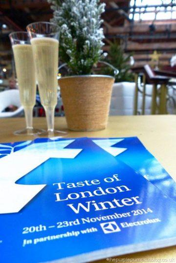 Taste of London Winter 2014