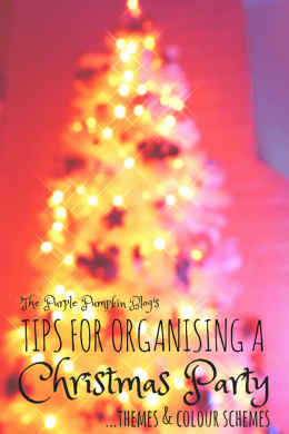 Tips for Organising a Christmas Party - Themes and Colour Schemes