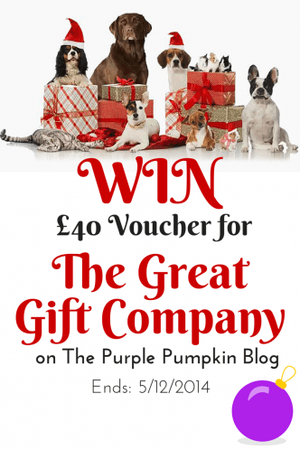 Win £40 Voucher for The Great Gift Company