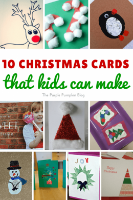 10 Christmas Cards That Kids Can Make