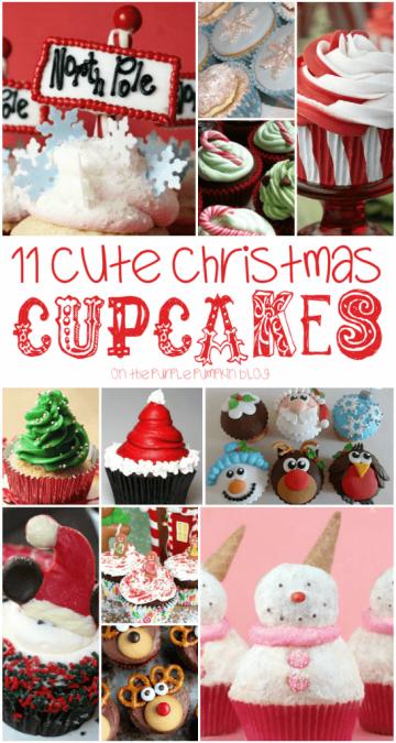 11 Cute Christmas Cupcakes