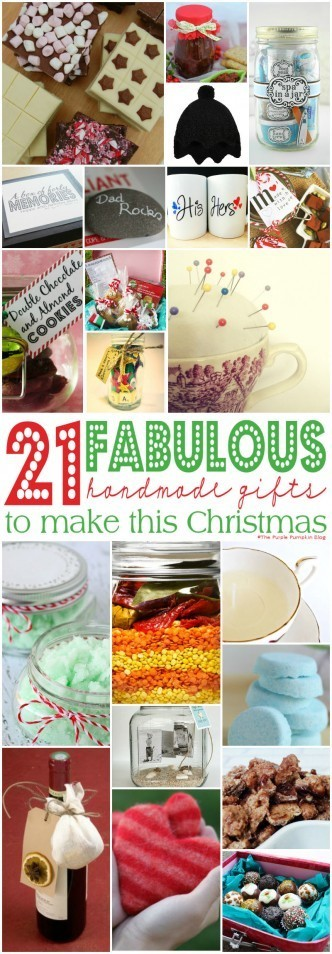 21 Fabulous Handmade Gifts To Make This Christmas