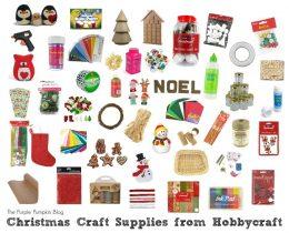 Christmas Craft Supplies from Hobbycraft
