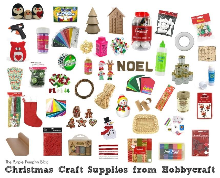 Craft Supplies Christmas Part - 30: The Purple Pumpkin Blog