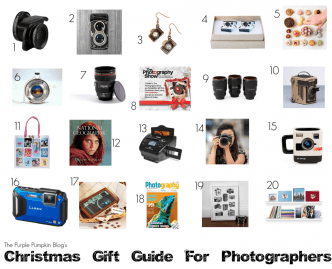 Christmas Gift Guide For Photographers