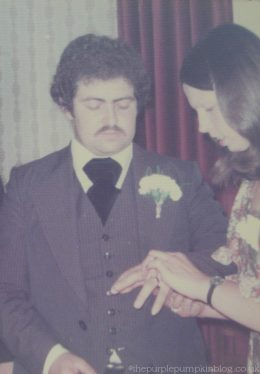 Mum and Dad's Wedding Day